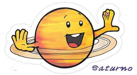 El planeta Saturno para niños