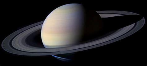 El planeta Saturno, señor de los anillos