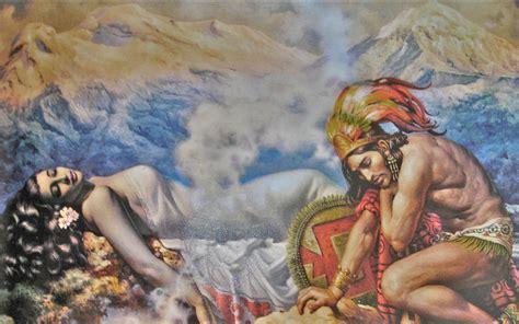 El Popocatépetl y el Iztaccíhuatl | Nuvia Mayorga