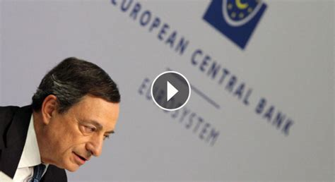 EL PRESIDENTE DEL BANCO CENTRAL EUROPEO. MARIO DRAGHI ...