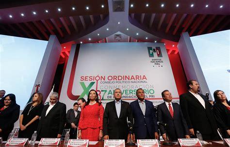 El PRI es el partido de la Revolución del Siglo XXI PRI