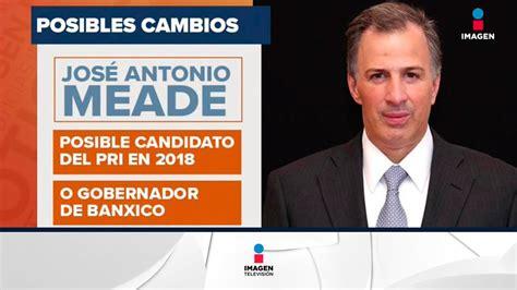El PRI ya tendría candidato para la presidencia en 2018 ...
