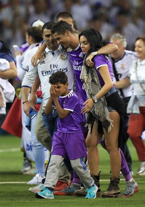 El primer beso de Cristiano Ronaldo y Georgina Rodriguez