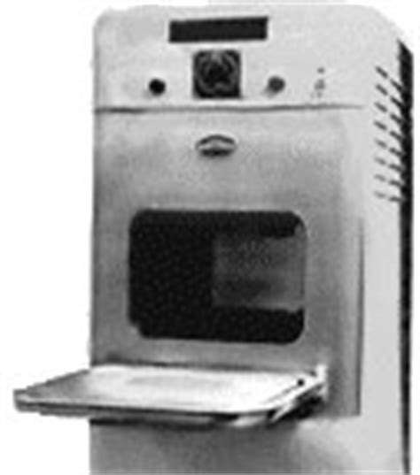 El primer microondas