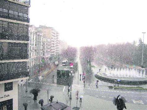 El primer temporal del invierno pone en alerta a media España