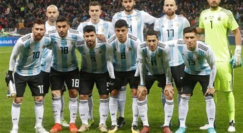 El probable 11 titular de Argentina para el Mundial Rusia ...