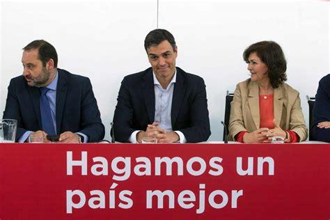 El PSOE presenta la moción de censura contra Mariano Rajoy
