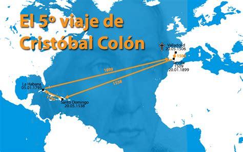 El quinto y último viaje de Cristóbal Colón - Historia del ...