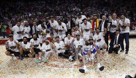 El Real Madrid, campeón de Europa de baloncesto - 20minutos.es