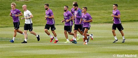 El Real Madrid regresa hoy a los entrenamientos   Real ...