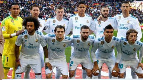 El Real Madrid termina 2017 como líder del ranking UEFA