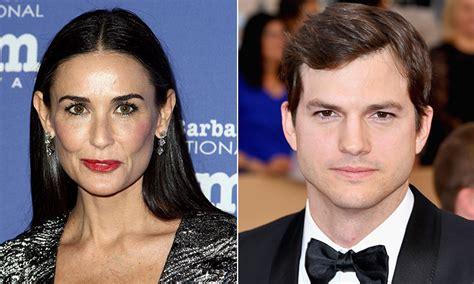 El reencuentro de los ex, Demi Moore y Ashton Kutcher ...