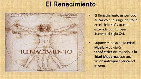 El Renacimiento: características principales