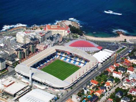 El Riazor, stadion Deportivo La Coruna   Mateball