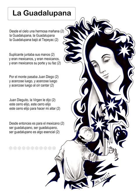 El Rincón de las Melli: CANCIÓN: La Guadalupana