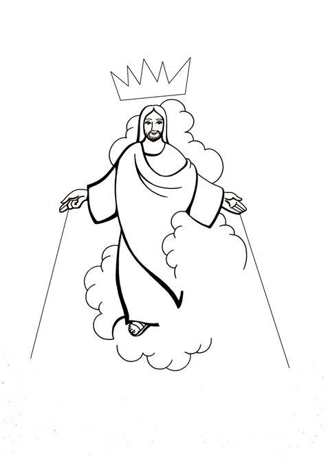 El Rincón de las Melli: DIBUJO: Cristo Rey