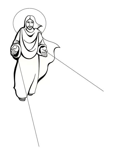El Rincón de las Melli: DIBUJO: Jesús resucitado
