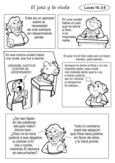 El Rincón de las Melli: PARÁBOLA (El juez y la viuda ...