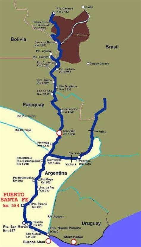 El Río Paraná nace en la confluencia del Río Grande y el ...