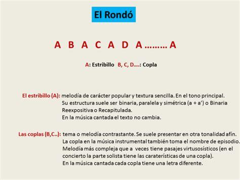 El Rondó simple | musicnetmaterials