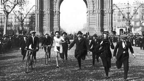 El «running» en 1924   ABC.es