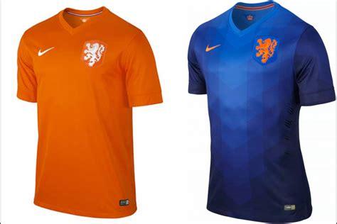 El segundo uniforme de Holanda será azul, anunció Nike ...