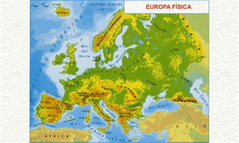 EL SEXTO DE FONTES: CONO T10 - EL RELIEVE DE EUROPA