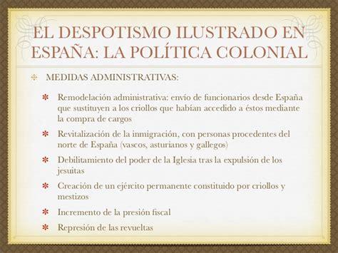 El siglo XVIII en España: el reformismo borbónico
