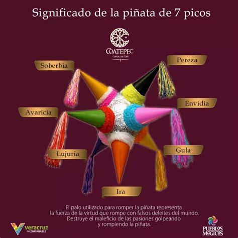 El significado y la belleza de las piñatas de 7 picos