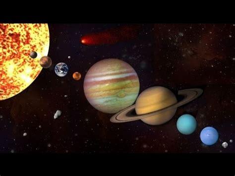 El Sistema Solar Interior  universo    YouTube