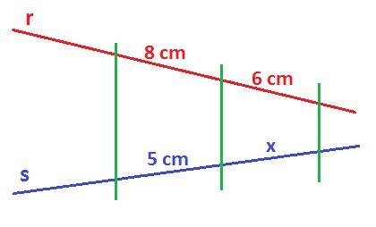 El Teorema De Thales Ejercicios Resueltos Nivel 1 Paso A Paso