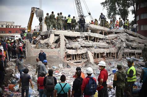 El terremoto de México en imágenes – Español