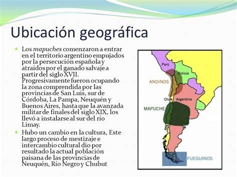 El territorio argentino desde la llegada de los pueblos ...