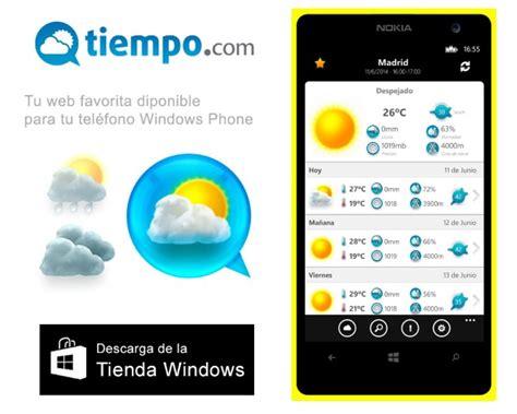 El Tiempo 14 días la aplicación de Tiempo.com para Windows ...