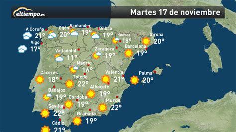 El Tiempo En España Mapa | threeblindants.com