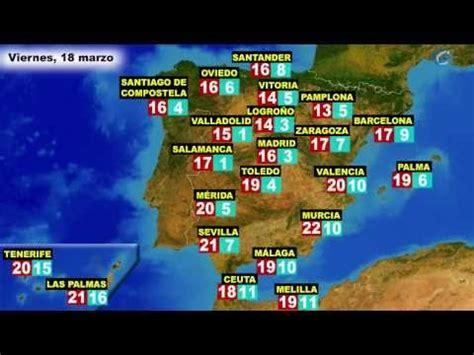 El tiempo en España, por CCAA, para hoy jueves 17 y mañana ...