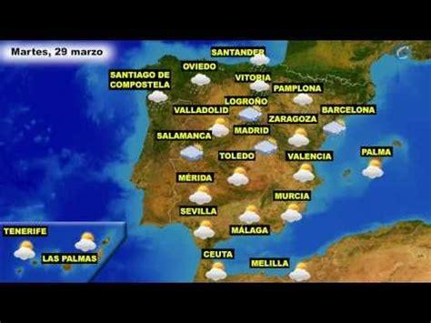 El tiempo en España, por CCAA, para hoy lunes 28 y mañana ...