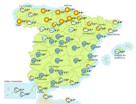 El Tiempo España Mapa | My blog