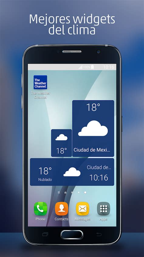El Tiempo   Pronóstico de clima   Aplicaciones Android en ...