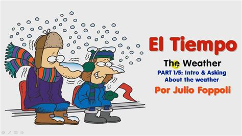 El Tiempo ~ The Weather [LESSON 1/5] ~ Asking About the ...