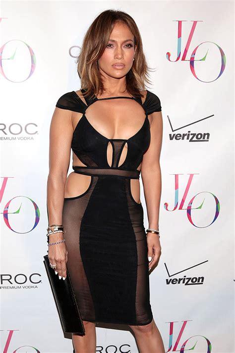 El transparente y ceñido vestido con el que Jennifer Lopez ...