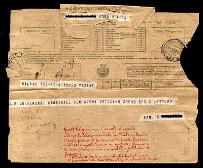 El trastero de Diógenes: td/033 - Telegrama de recomendación