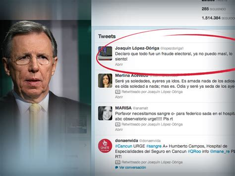 El Twitter de López-Dóriga | Fernando Ortiz