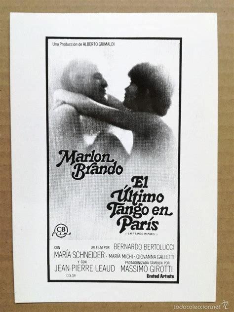 el ultimo tango en paris bernardo bertolucci ma   Comprar ...