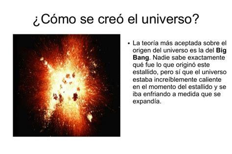 El universo y sistema solar