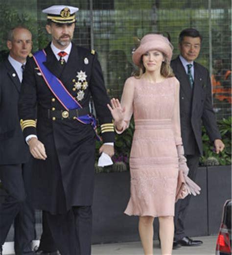 El vestido de Letizia Ortiz en la boda real inglesa