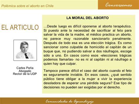 El violinista. Polémica sobre el aborto en Chile