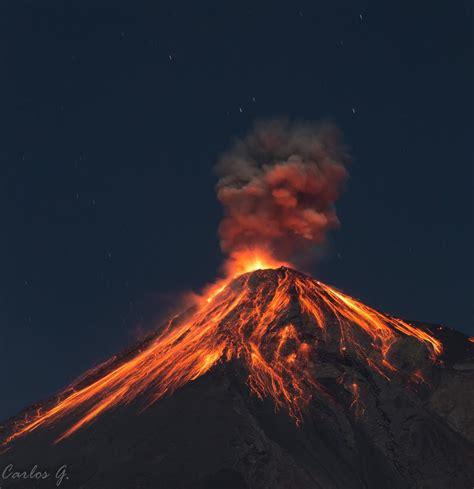 El Volcán de Fuego entra en Erupción, la primera del 2017