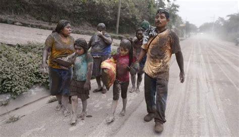El Volcán de Fuego hace erupción en Guatemala; hay 7 ...