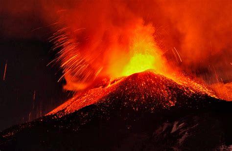 El volcán Etna en erupción – Nuestroclima